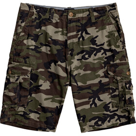 Quiksilver Crucial Battle Walk Shorts Herrer, camo print crucial battle